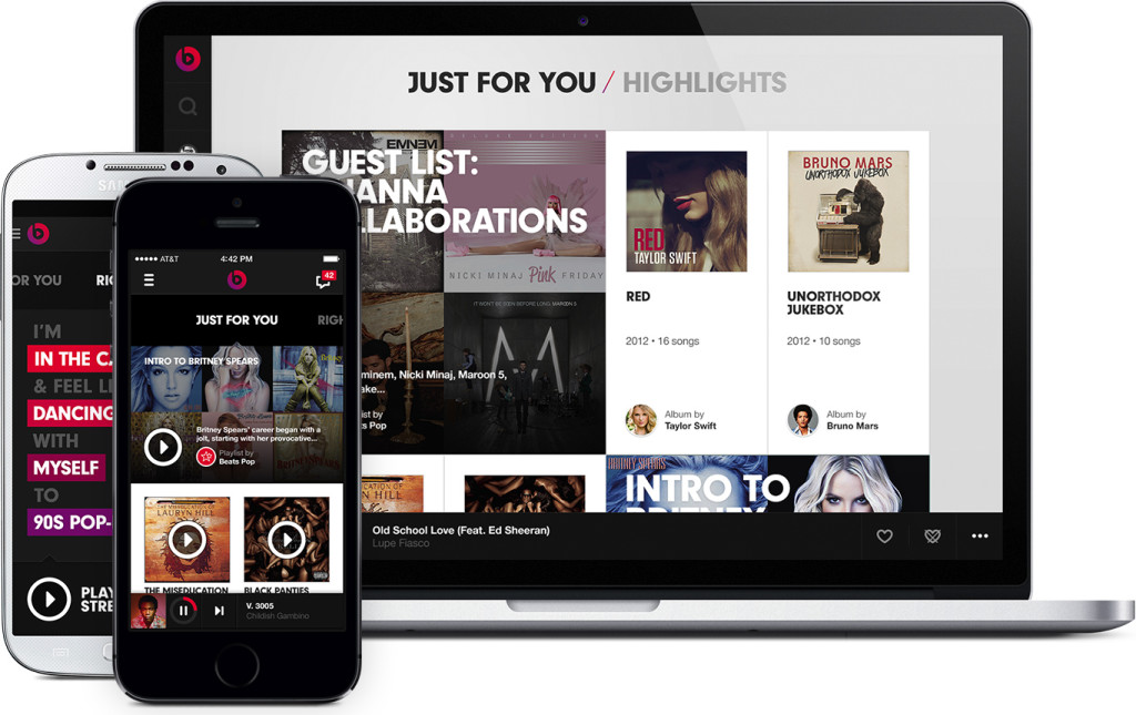 Beats Music is hoping to dominate an already crowded streaming music businnes
