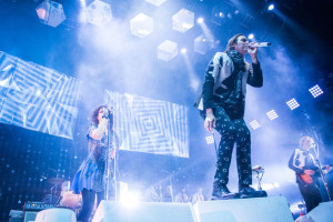 Arcade Fire performs live on their Reflektor tour