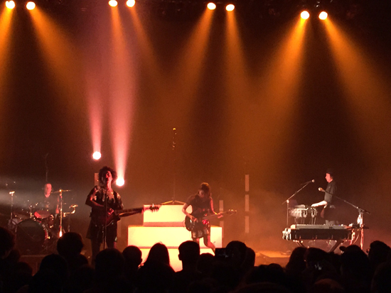 Tearing Down the House: St. Vincent Kills It at Lupo's